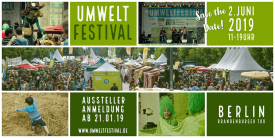 Save the Date 24 Umweltfestival am 2.Juni 2019